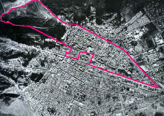 Cusco is built in the shape of a enormous Puma