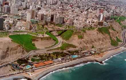 Miraflores, the richest district of Lima