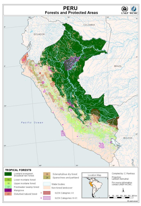 Maps Of Peru - Map of peru