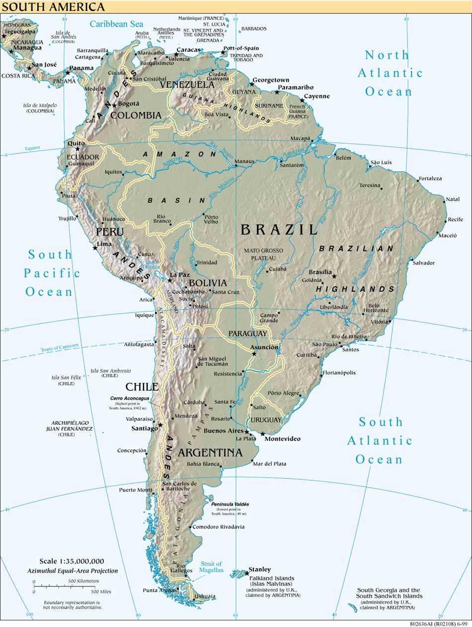 Image of: Maps Of Peru