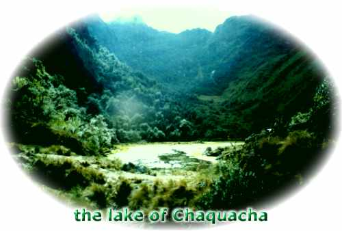 The lake of Chaquacha