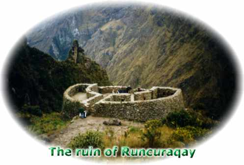 The ruin of Runcuraqay